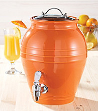 American Atelier Honey Pot Ceramic Beverage Dispenser