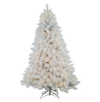 Sterling Inc 75 Pre Lit White Cashmere Christmas Tree 7gXVvdhf