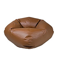 Ace Bayou Large Brown Matte Bean Bag Chair