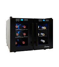 Vinotemp® 12-Bottle Dual Zone Thermoelectric Wine Cooler