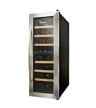 Vinotemp® 21-Bottle Dual-Zone Thermoelectric Wine Cooler