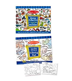 Melissa & Doug® Boys' Coloring and Sticker Pad Bundle