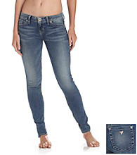 Guess Medium Washed Stretch Power Skinny Jeans