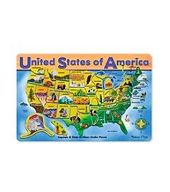 Melissa & Doug® USA Map Puzzle