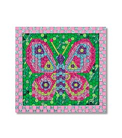 Melissa & Doug® Peel and Press Mosaic Butterfly