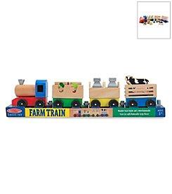 Melissa & Doug® Wooden Farm Train
