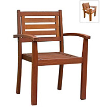 Merry Products, Corp. Stacking Arm Chair