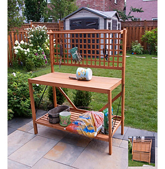 Merry Products, Corp. Folding Potting Bench