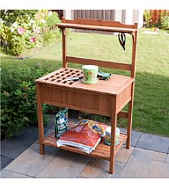 Merry Products™ Potting Bench with Recessed Storage