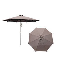 Merry Products, Corp. Tan Market Umbrella