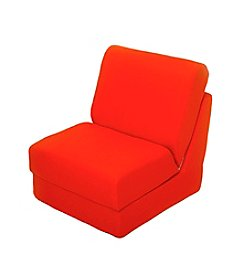 Fun Furnishings Teen Chair - Orange Canvas