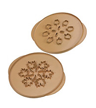 Nordic Ware® Brown Leaves and Apples Pie Top Cutter