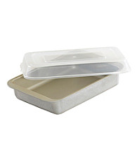 Nordic Ware® Compact Brownie and Cake Pan with Lid