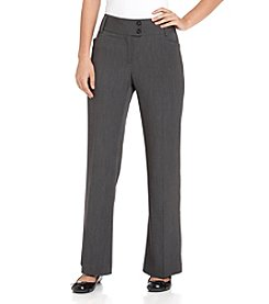 Rafaella® Stretch Gab Curvy Fit Pants