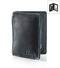 Fossil® Men's Harper Front Pocket Wallet - Black