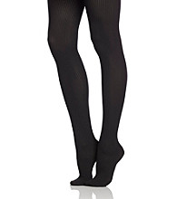 HUE® Sweater Rib Tights
