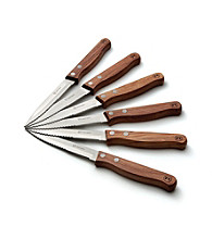 Outset® 6-pc. Rosewood Steak Knife Set