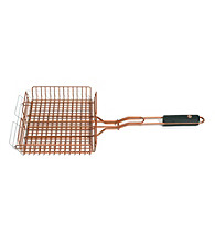 Outset® Grill Basket with Soft-Grip Handle