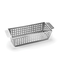 Outset® Large Stainless Steel Side Grill Basket
