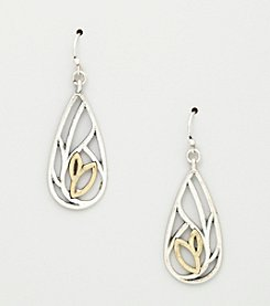 Nine West Vintage America Collection® Teardrop Shaped Drop Earrings