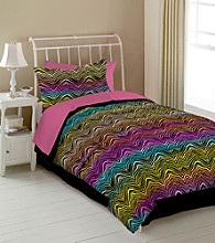 Rainbow Zebra Kids' Bedding Collection by Veratex®