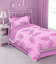 Pink Crown Kids' Bedding Collection by Veratex®