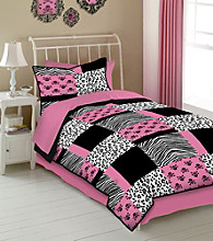 Pink Skulls Kids' Bedding Collection by Veratex®