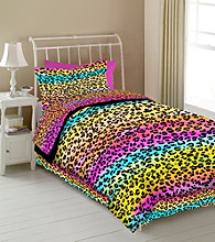 Rainbow Leopard Kids' Bedding Collection by Veratex®