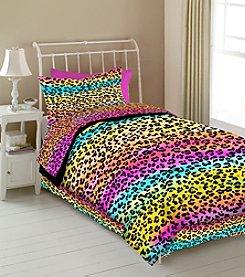 Veratex® Rainbow Leopard Kids' Bedding Collection
