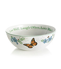 Lenox® Butterfly Meadow® Large Sentiment Bowl