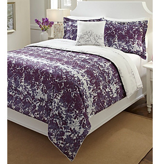 Bliss 3-pc. Comforter Set by LivingQuarters Loft