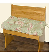 Greendale Home Fashions Roswell Floral Single Bench Cushion - Fern