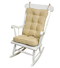 Greendale Home Fashions Hyatt Standard Rocking Chair Cushions - Cream