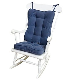 Greendale Home Fashions Hyatt Standard Rocking Chair Cushion - Denim
