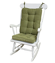 Greendale Home Fashions Hyatt Standard Rocking Chair Cushions - Moss