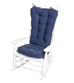 Greendale Home Fashions Hyatt Jumbo Rocking Chair Cushion Set - Denim