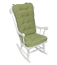 Greendale Home Fashions Hyatt Jumbo Rocking Chair Cushion Set - Moss