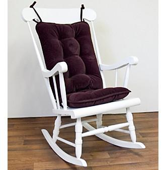 Greendale Home Fashions Cherokee Standard Rocking Chair Cushion Set - Grape