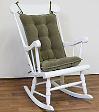Greendale Home Fashions Cherokee Standard Rocking Chair Cushion Set - Sage