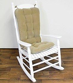 Greendale Home Fashions Cherokee Jumbo Rocking Chair Cushion Set - Khaki