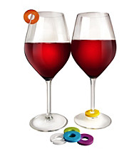 Epicureanist™ Multicolored Wine Glass Charms