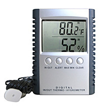 Vinotemp® Temperature and Humidity Gauge