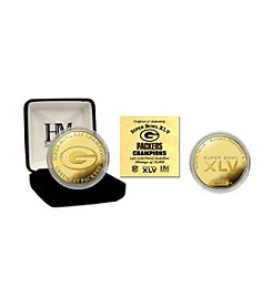NFL® Green Bay Packers Super Bowl XLV Champions 24K Gold Coin