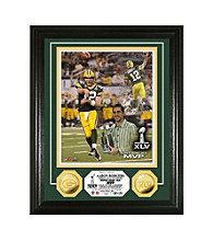 Super Bowl XLV MVP 24K Gold-Plated Coin and Photo Mint by Highland Mint