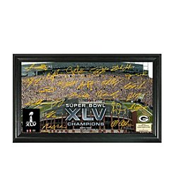 NFL® Green Bay Packers Super Bowl XLV Champions Signature Gridiron