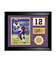 Percy Harvin Player Pride Desktop Photo Mint by Highland Mint