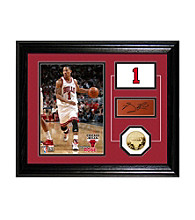 Derrick Rose Player Pride Desktop Photo Mint by Highland Mint