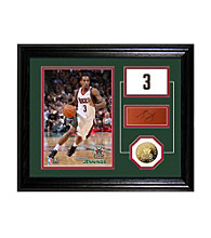 Brandon Jennings Player Pride Desktop Photo Mint by Highland Mint