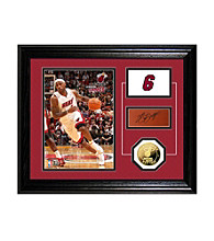 LeBron James Player Pride Desktop Photo Mint by Highland Mint
