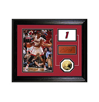 Chris Bosh Player Pride Desktop Photo Mint by Highland Mint